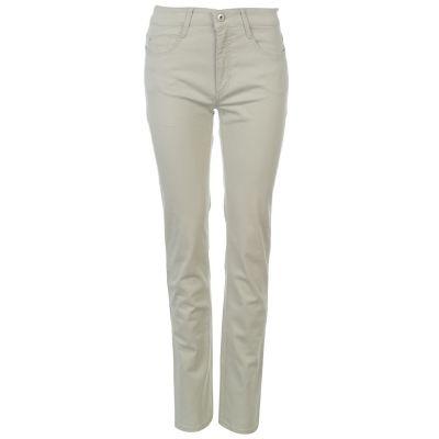 Pantaloni Mac Angela Sum pentru Femei f205 wheat bej