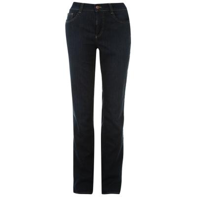 Pantaloni Mac Dream bumbac pentru Femei inchis albastru