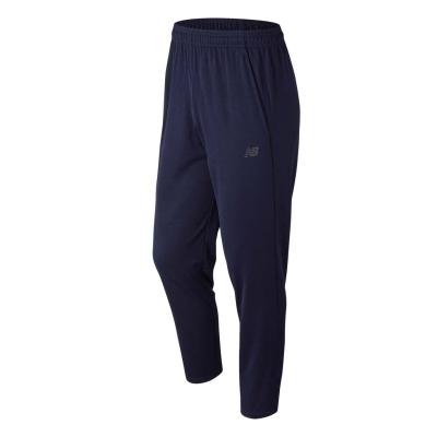 Pantaloni New Balance tricot alergare pentru Barbati bleumarin