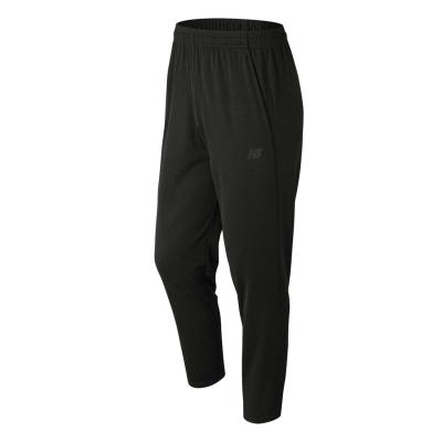 Pantaloni New Balance tricot alergare pentru Barbati negru