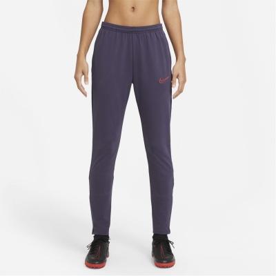 Pantaloni Nike Academy Soccer pentru femei prpl rosu
