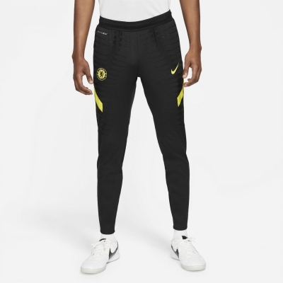 Pantaloni Nike Chelsea Elite Track Soccer 2021 2022 negru galben