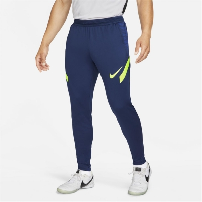 Pantaloni Nike Dri-FIT Strike Soccer pentru Barbati albastru galben
