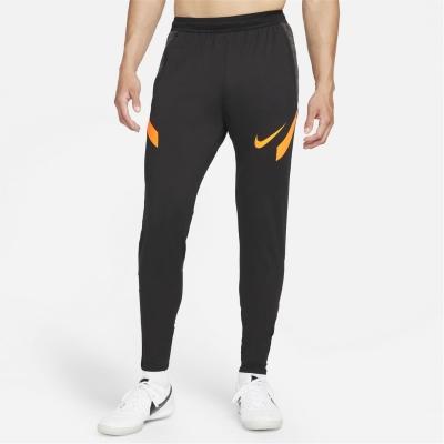 Pantaloni Nike Dri-FIT Strike Soccer pentru Barbati negru portocaliu