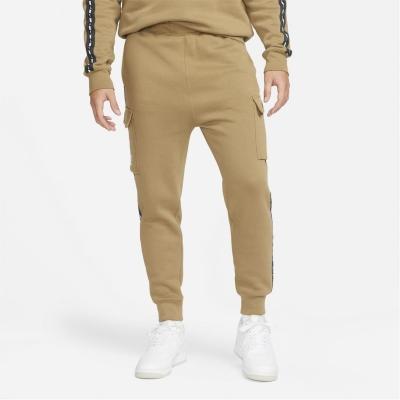 Pantaloni Nike NSW REPEAT FLC CARGO BB maro bej