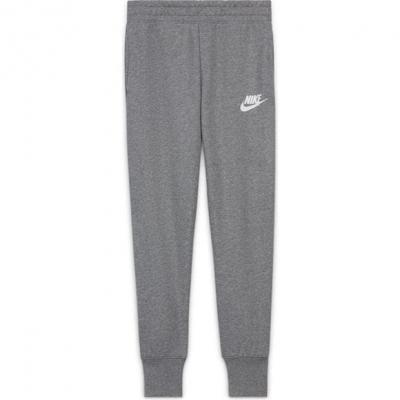 Pantaloni Nike Sportswear Club Big () French Terry pentru fete pentru Copii gri alb