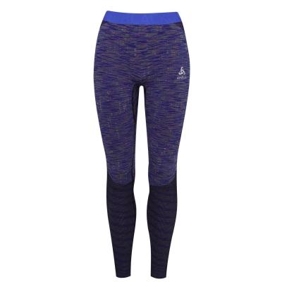 Pantaloni Odlo Blackcomb pentru femei albastru