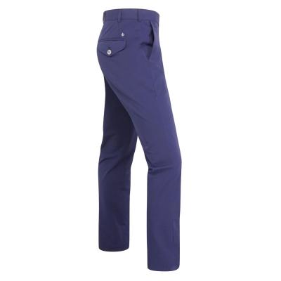 Pantaloni Oscar Jacobson Slim Fit bleumarin