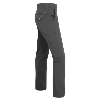Pantaloni Oscar Jacobson Slim Fit gri carbune