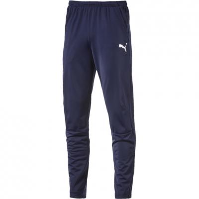 Pantaloni antrenament sport barbati Puma Liga Peacoat bleumarin 655314 06