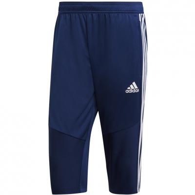 Pantaloni barbati Adidas Tiro 19 34 bleumarin DT5124