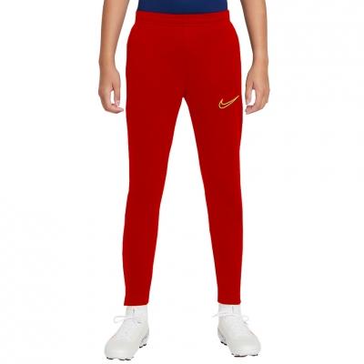 Pantaloni Pantaloni Nike DF Academy 21 KPZ rosu CW6124 687 pentru Copii