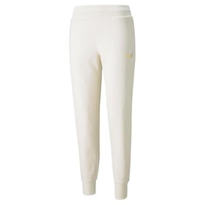 Pantaloni Puma ESS+ Met Ld21 roz glow auriu