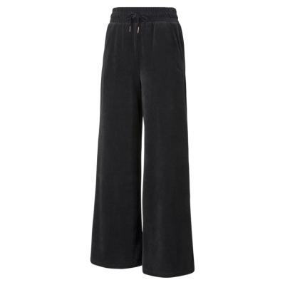 Pantaloni Puma HER Velour Ld14 negru