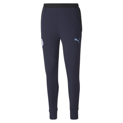 Pantaloni jogging Puma Manchester City FC Casual pentru Barbati albastru