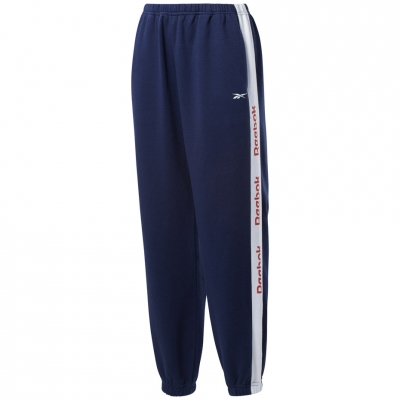 Pantaloni Reebok Te Linear Logo bleumarin FU2252 pentru femei