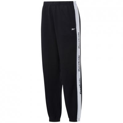 Pantaloni Reebok Te Linear Logo Fl negru GH7475 pentru femei