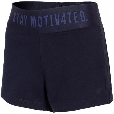 Pantaloni scurti 4F bleumarin H4L21 SKDD013 31S pentru femei