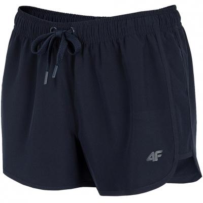 Pantaloni scurti 4F bleumarin H4L21 SKDT001 31S pentru femei