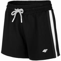 Pantaloni scurti 4F Charcoal negru H4L20 SKDD002 20S pentru femei