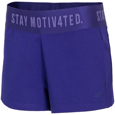 Pantaloni scurti 4F Cobalt H4L21 SKDD013 36S pentru femei