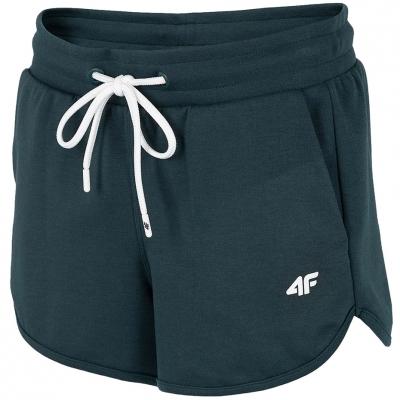 Pantaloni scurti 4F Dark verde H4L21 SKDD015 40S pentru femei