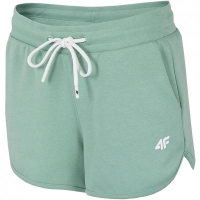 Pantaloni scurti 4F, menta H4L21 SKDD015 47S pentru femei