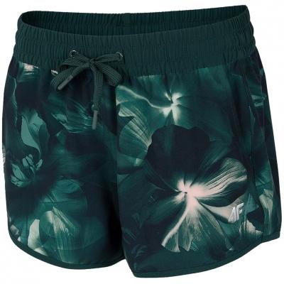 Pantaloni scurti 4F Multicolor 1 Allover H4L21 SKDT006 91A pentru femei