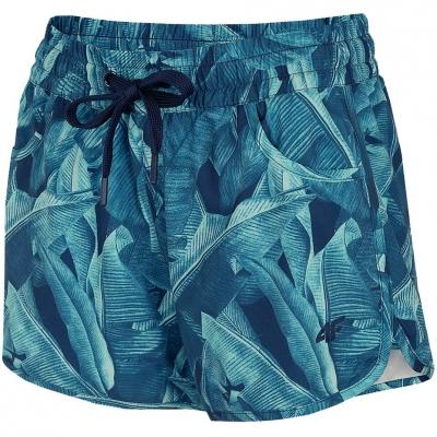 Pantaloni scurti 4F Multicolor Allover 3 H4L21 SKDT002 93A pentru femei