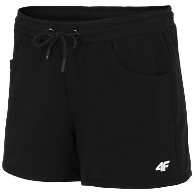Pantaloni scurti 4F negru intens NOSH4 SKDD001 20S pentru femei