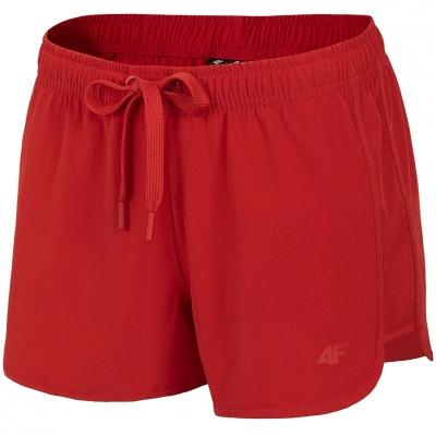 Pantaloni scurti 4F rosu H4L21 SKDT001 62S pentru femei