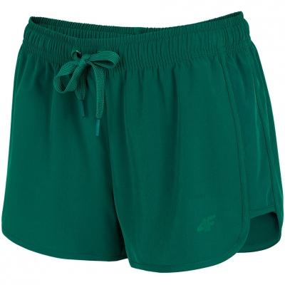 Pantaloni scurti 4F Sea verde H4L21 SKDT001 46S pentru femei