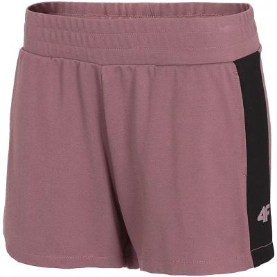 Pantaloni scurti 4F visiniu H4L21 SKDD011 60S pentru femei
