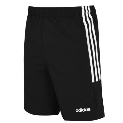 Pantaloni scurti adidas 3-Stripes pentru Barbati negru alb