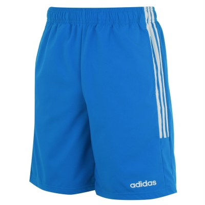 Pantaloni scurti adidas 3-Stripes pentru Barbati albastru alb