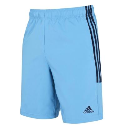 Pantaloni scurti adidas 3-Stripes pentru Barbati albastru negru