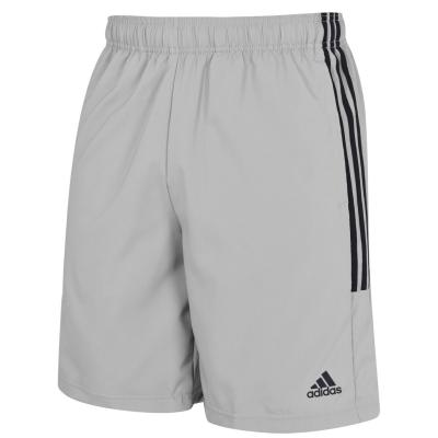 Pantaloni scurti adidas 3-Stripes pentru Barbati gri negru