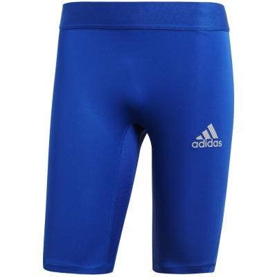 Colanti scurti Adidas Alphaskin Sport albastru CW9458 barbati