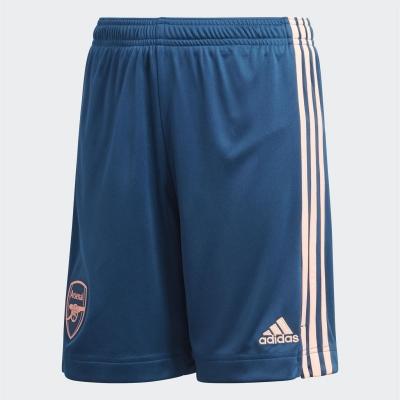 Pantaloni scurti adidas Arsenal Third 2020 2021 pentru copii albastru