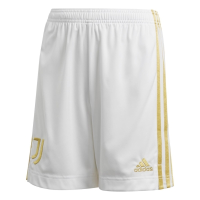 Pantaloni scurti adidas Juventus Acasa 2020 2021 pentru copii alb