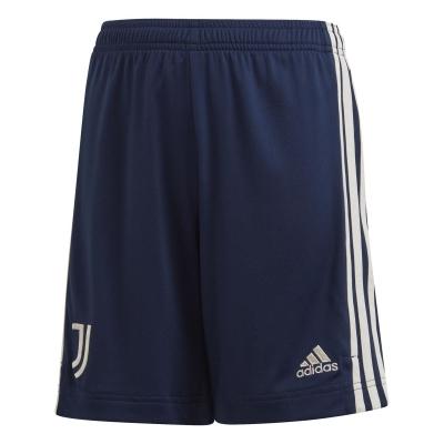Pantaloni scurti adidas Juventus Away 2020 2021 pentru copii albastru