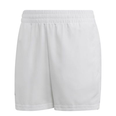 Pantaloni scurti adidas Climalite tenis pentru baieti alb negru