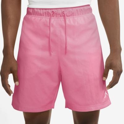 Pantaloni scurti Air Jordan Jordan Jumpman Poolside pentru Barbati roz alb