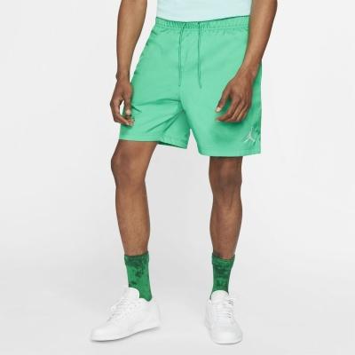 Pantaloni scurti Air Jordan Jordan Jumpman Poolside pentru Barbati verde alb