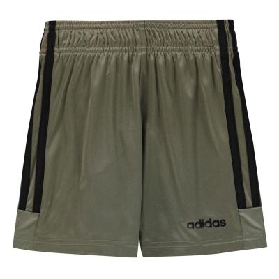 Pantaloni scurti antrenament adidas Sereno Juniors negru kaki