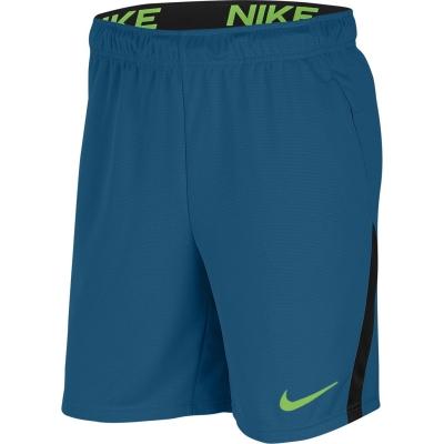 Pantaloni scurti antrenament Nike Dri-FIT pentru Barbati albastru negru