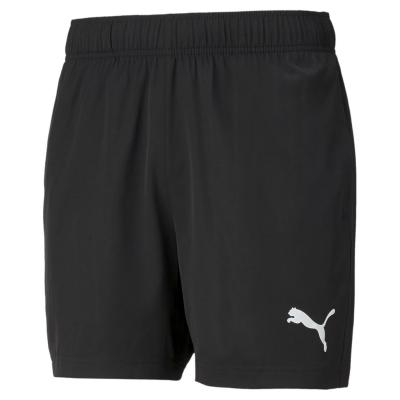 Pantaloni scurti antrenament Puma fotbal pentru Barbati negru alb