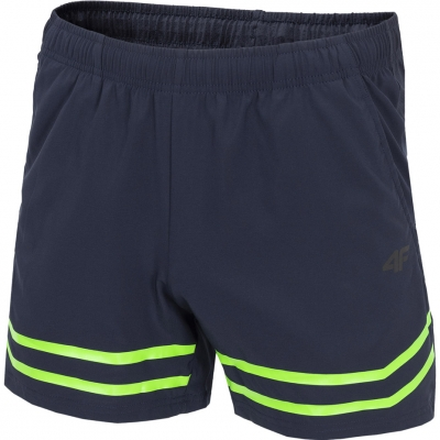Pantaloni scurti barbati 4F H4L19 SKMF003 30S bleumarin inchis