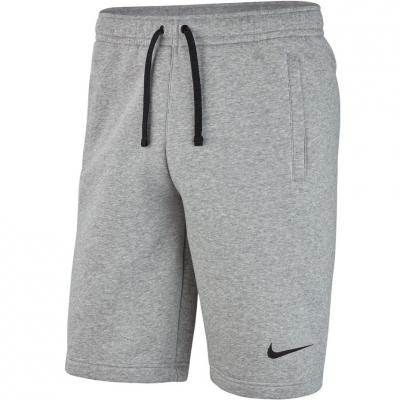 Pantaloni scurti barbati Nike M Short FLC Team Club 19 J gri AQ3136 063