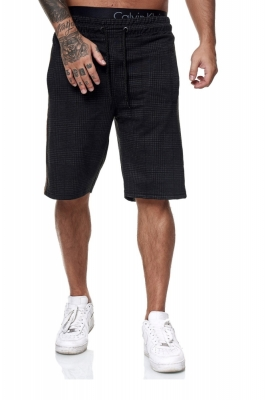 Pantaloni scurti barbati redox 1469c negru